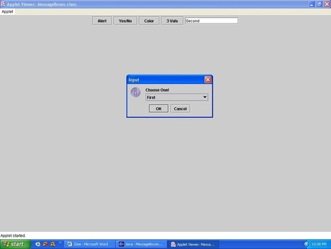 Adv Java - [Swing: JOptionPane Class] | VAKRATUND CLOUD EDUCATION | Scoop.it