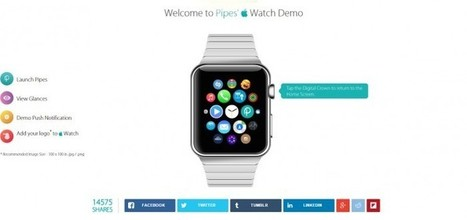 Demo the Apple Watch Now Via Your Browser - iDropNews | Interface Usability and Interaction | Scoop.it