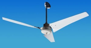 Solar Ceiling Fans Vari-Cyclone Indoor Outdoor 12 24 Volt DC | Air Circulation and Ceiling Fans | Scoop.it