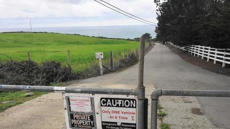 A billionaire is willing to bring back public access to Martins Beach — for a price | Coastal Restoration | Scoop.it