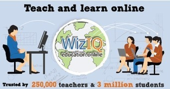WizIQ | Making Online Teaching & Learning Easier and Affordable | E-learning arts | Scoop.it