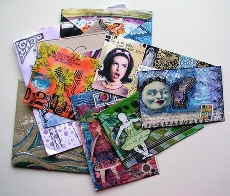 Marcia Beckett: Call for Mail Art! | Mail Art | Scoop.it