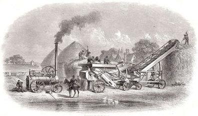 Steam Threshing   Invention Convention   Scoop.it