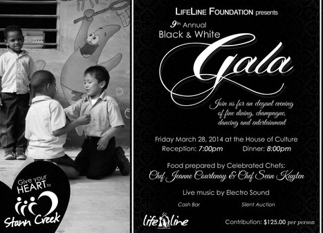 Lifeline is hosting its annual Black and White Gala on Friday, March 28th in #Belize City | Travel - Traditions, Culture, Foods and Places | Scoop.it