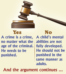 Should Juveniles be Tried as Adults? | Madisons Persuasive Research | Scoop.it