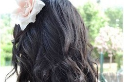 DIY Beauty: Beach waves with straightener | Bridal Hair and Beauty | Scoop.it