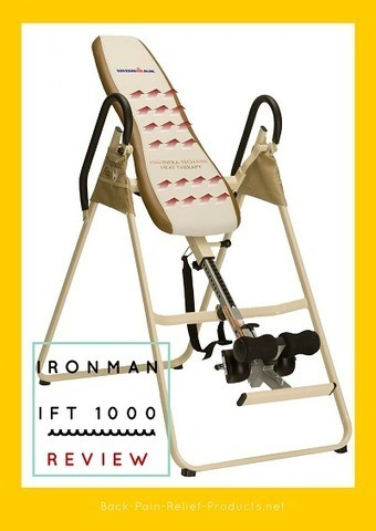 Ironman IFT 1000 Infrared Therapy Inversion Table: A Detailed Evaluation - Back Pain Relief Products | Back Pain Natural Treatments | Scoop.it