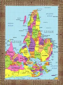 L'histoire des Antilles et de l'Afrique: VOICI LA VRAIE CARTE DE L´AFRIQUE CACHÉE AUX AFRICAINS DEPUIS 600 ANS | Caraïbes | Scoop.it