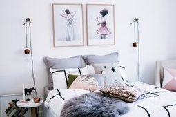 Suspensions lumineuses dans une chambre | picslovin | Scoop.it