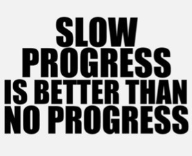 The Hardest Lesson - Slow Progress Is Better Than NO Progress | Collaborative Revolution | Scoop.it