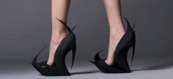 D'incroyables escarpins imprimés en 3D   Luxury   Scoop.it