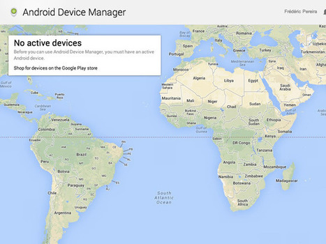 Android Device Manager est disponible | Geeks | Scoop.it