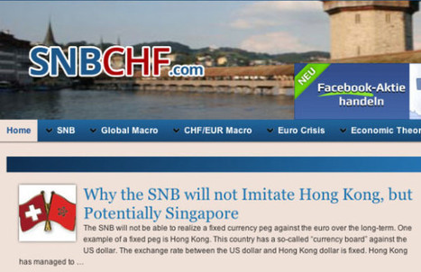 Other blogs & info on SNB & CHF - SNBCHF.COM | Swiss Franc | Scoop.it