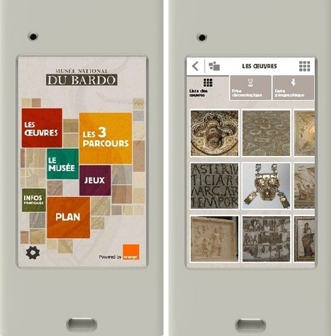 [IL Y A 2 ANS] Orange et le Ministère de la Culture tunisien lancent le guide de visite numérique du musée national du Bardo | Ecriture mmim | Scoop.it