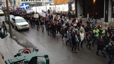Les étudiants manifestent à Montréal | L'enseignement dans tous ses états. | Scoop.it