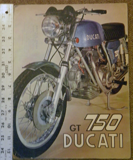 Ducati 750 GT Factory Literature | eBay | Ductalk | Scoop.it