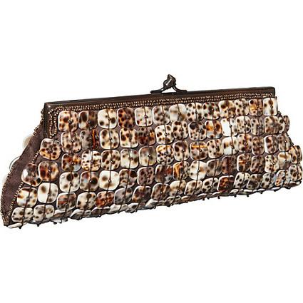 Moyna Handbags Framed Clutch with MOP Brown - Moyna Handbags Evening Bags | I love designer handbags | Scoop.it