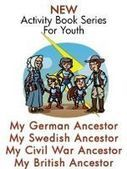 "Announcing a New Series of ""Zap The Grandma Gap--My Ancestor"" Activity Books 