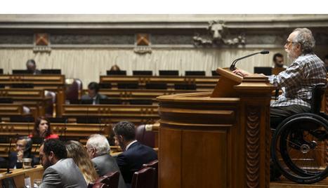 SIC Notícias | O primeiro discurso de um deputado paraplégico na tribuna do Parlamento | Technocare | Tecnocuidado | Scoop.it