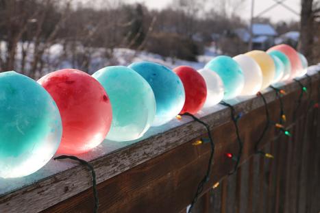 DIY Colored Ice Balls - Live Dan 330   Dan330   Scoop.it