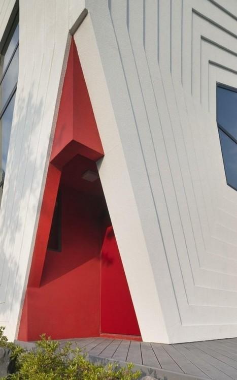 Maison futuriste en Corée - CôtéMaison.fr | Nouveaux lieux, nouveaux apprentissages | Scoop.it