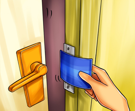 How to Open a Door with a Credit Card | Locksmith Pros Expert in Locksmith | Scoop.it