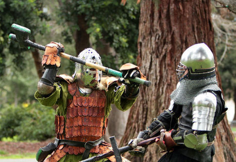 Past is present for North Bay's medieval re-creators - Napa Valley Register | historical medieval battle | Scoop.it