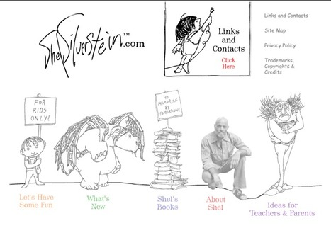 ShelSilverstein.com - the Official Site for Kids - Choose Speed   Library Celebrations   Scoop.it