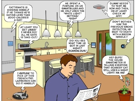 What Your Internet of Things Is Saying About You (Comic) | Internet of Things - Lars | Scoop.it