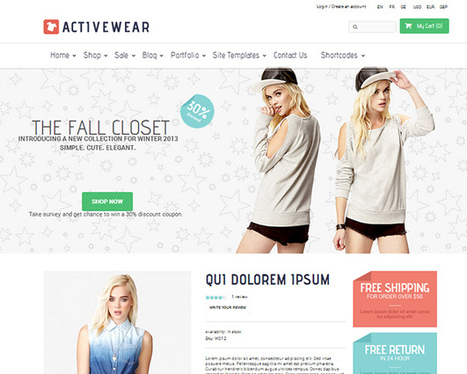 40 Best eCommerce WordPress Themes | Community management | Scoop.it