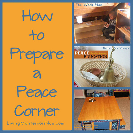 Montessori Monday – How to Prepare a Peace Corner | Preschool Montessori Education | Scoop.it