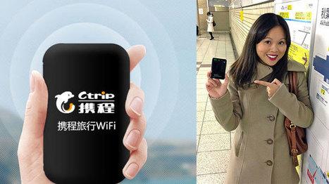 Pocket Wifi, comment les Chinois restent-ils connectés ? - Maxity | Marketing appliqué aux touristes étrangers | Scoop.it