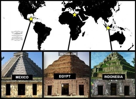 Three different ancient buildings from three different parts of the world, yet they look exactly the same. | Ancient Archaeology | Scoop.it