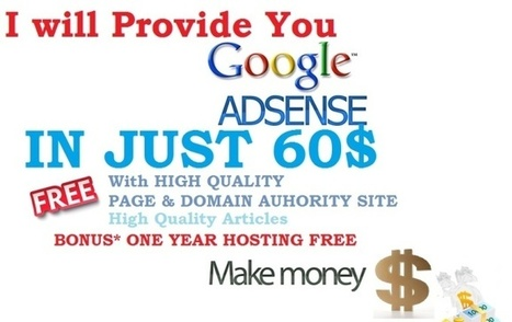 I Will provide ADSENSE Approval With Free Domain | SEO Tips | Tech Blog Backlinks | Scoop.it