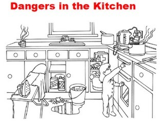 Teaching Students with Learning Difficulties: Dangers in the Kitchen | technologies | Scoop.it