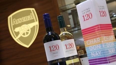 El Arsenal disfrutará de los prestigiosos vinos Santa Clara   GastroMarketing   Scoop.it