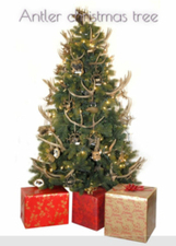 Antler christmas tree | For home | Scoop.it