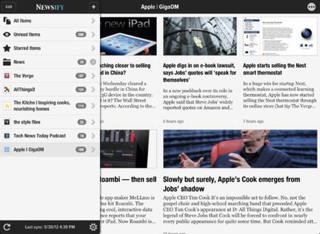 Reeder And Flipboard Look-Alike App Newsify Goes Universal  -- AppAdvice | Curtin iPad User Group | Scoop.it