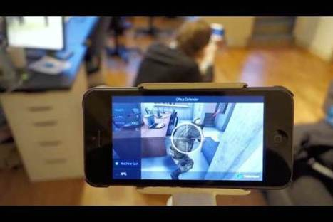 Augmented Reality Game Turns Your Office Into A Combat Zone [Video] - PSFK | Eye on clever IT things | Scoop.it