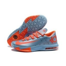 Nike Zoom KD 6 Ice Blue Orange for sale | Kobe 8 All Star | Scoop.it