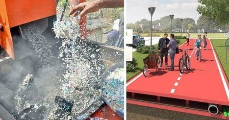 La Hollande va construire ses routes avec du plastique recyclé... issu du nettoyage des océans. Une idée simple mais tellement géniale, il suffisait d'y penser ! | Ca m'interpelle... | Scoop.it