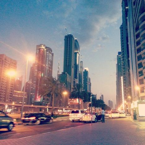 Week 1 - Sheikh Zayed Road, Emirates Tower Station | findmeabreak | Scoop.it