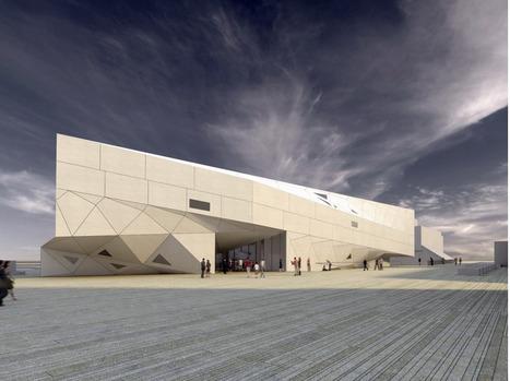 [Tel Aviv, Israel]  Museum of Art / Preston Scott Cohen | The Architecture of the City | Scoop.it