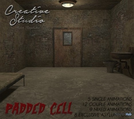 Padded Cell by CREATIVE STUDIO | Teleport Hub - Second Life Freebies | Second Life Freebies | Scoop.it