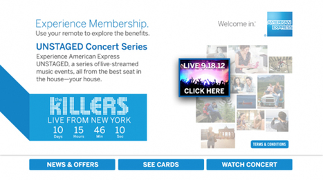 American Express Interactive Channel Is Set to Reach 50 Million Homes | Brand Marketing & Branding | Scoop.it