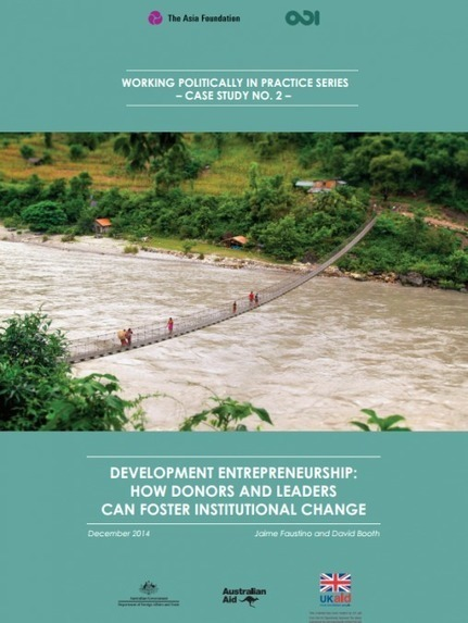 The Asia Foundation and ODI Launch Cutting-Edge Paper on Development Entrepreneurship   International aid trends from a Belgian perspective   Scoop.it