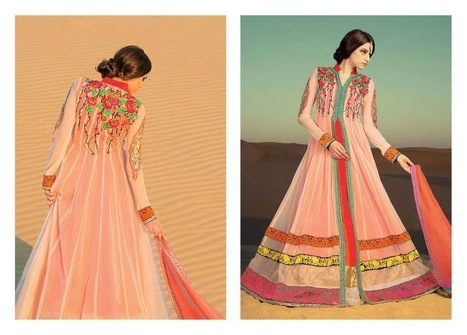 Ready Made Frocks Collection For Girls By Pehchan 2014 | Women Fashion | Women fashion | Scoop.it