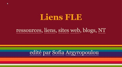 Liens, ressources, blogs, sites web pour FLE - Google Slides | TICE et Web 2.0 | Scoop.it