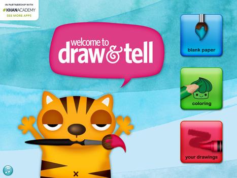 Draw and tell: la conception de capsules vidéo pour les plus jeunes   Le propulseur de Ticeman   Classe inversée à l'école primaire   Scoop.it