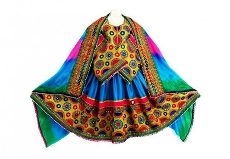 Afghan Womens Long Dress Kuchi Ladies Formal Suit Gypsy Bridal Costume | Buy Belly Dance Jewelry Tribal Fusion Bellywood | Scoop.it